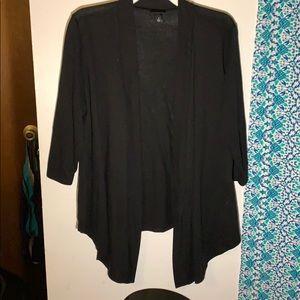 Torrid open front sweater 3/4 sleeve